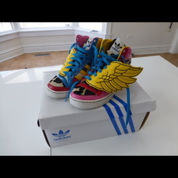 2ed228ddfae9 Jeremy Scott x Adidas Shoes